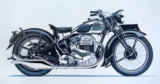  Motorcycle Painting No. 4 ,William Fisk
