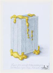 Liquid Gold Cabinet, Mattia Bonetti