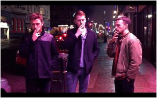 Three English Men Smoking American Cigarettes, Marysia Gacek