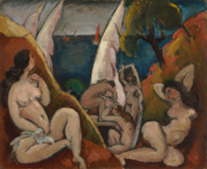 The Bathers, Max Weber
