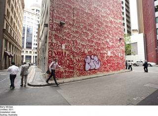 Installation Sydney, Barry McGee
