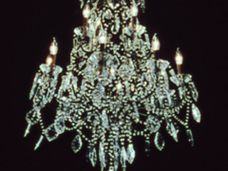 Torqued Chandelier Release, Rodney Graham