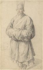 Man in Korean Costume , Peter Paul Rubens