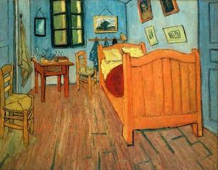 The Bedroom at ArIes, Vincent Van Gogh
