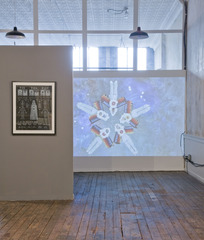 Installation shot of  Chimera , Saya Woolfalk