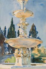 In a Medici Villa   , John Singer Sargent