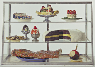 Pastry Case, I, Claes Oldenburg