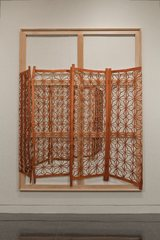Extraction (Wrap-around Wooden Screen) , Meredyth Sparks