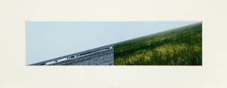 Land - Sea Horizon (a), Jan Dibbets