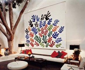 La Gerbe installed in Brody residence, Henri Matisse