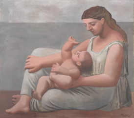 Mother and Child , Pablo Picasso
