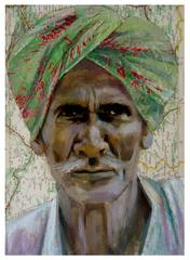 Green Turban, Tania Beaumont