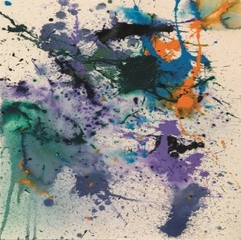Untitled SF90-369,Sam Francis