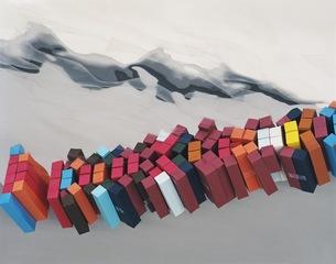 Untitled (Containeryard, Liverpool, UK, January 13, 2004, flipped), Heather Rasmussen