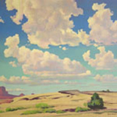 Monument Valley, Emil Bisttram