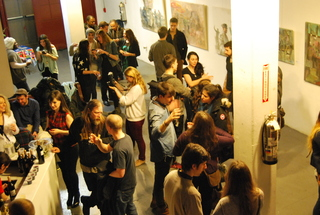 Opening of City/Dream/Scapes at TNC Gallery,HAUCK, SESMA, GINZBURG, LIU-WONG