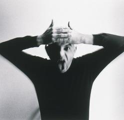Selfportrait as a Devil (detail), Duane Michals