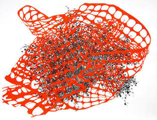 """Entanglement in Orange"", Regin Igloria"
