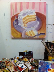 Party Cake (with studio view), Tiffany Stronsky
