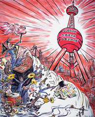 Qingdao Cartoons #4: The East is Red Pearl,