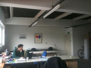 desk space, .............