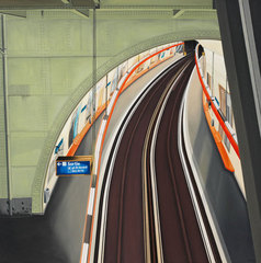 Métro Station Saint-Michel Paris, Willi Oertig