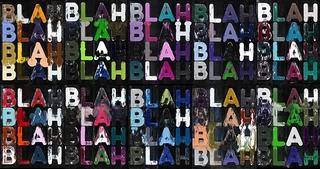 Blah, Blah, Blah, (detail) , Mel Bochner