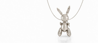 Rabbit Necklace,Jeff Koons