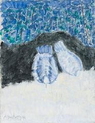 Pigeons in the Park , Milton Avery
