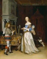 Lady at Her Toilette, Gerard Ter Borch