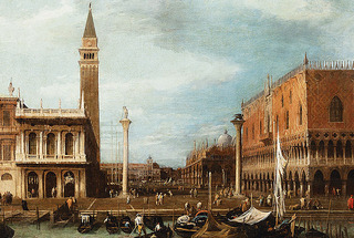 Venice: The Molo from the Bacino di S. Marco ,Giovanni Antonio Canal