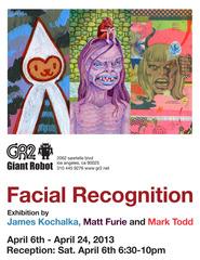 Giant Robot Presents: Facial Recognition, Matt Furie, Mark Todd, James Kochalka