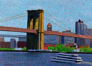 Brooklyn Bridge - New York, JUCHUL KIM