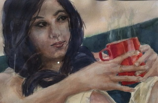 COFFEE CUPS / CAFE ART, John West