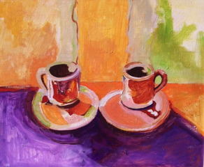 COFFEE CUPS / CAFE ART, Gregg Skuce