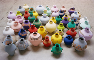 Colored Vases,Ai Weiwei