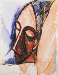Tête de trois quarts (Head in Three-Quarter View), Pablo Picasso