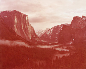 Winter Sunrise Yosemite Valley, David Benjamin Sherry