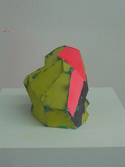Untitled (Green/Pink/ Black), Zachary Buchner