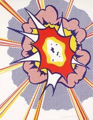 Explosion, Roy Lichtenstein