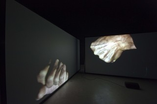 Sharpening Fantasy, 2012 Installation shot , Douglas Gordon