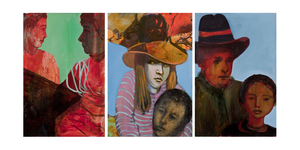 20130329183536-_22girl_and_yellow_hat_triptych_22_48_x_72_22_mixed_media_on_paper_2010