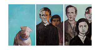 Pig Triptych, Alexandra Wiesenfeld
