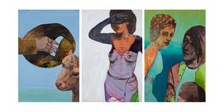 Sheep Triptych, Alexandra Wiesenfeld