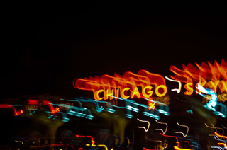 Chicago Skyways -lights. action, Nancy Bechtol