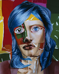 Portrait with Blue Hair, Daniel Gordon