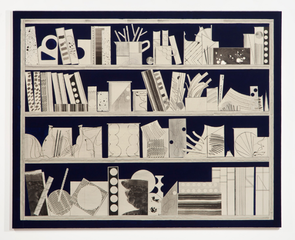 Film Strip (blue shelf), David Korty