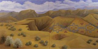 New Mexico Desert, Kay WalkingStick