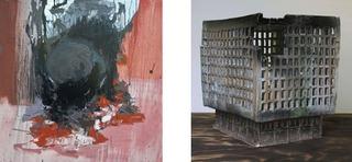 Left: Offer #3, Right: Misrata, Libya, Iain Muirhead, Alison Rutton