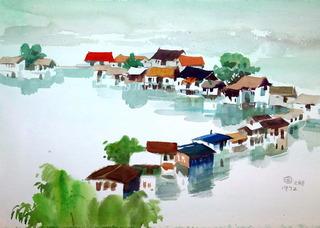 落马洲风景, Au Yeung Nai Chim